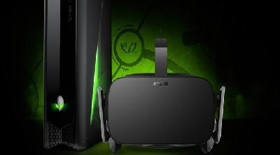 Dell y Alienware ofrecen packs de ordenadores con Oculus Rift
