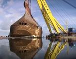 ¿Cómo rescatar un barco de 13.000 toneladas del fondo del mar?