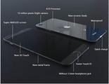Así podría ser finalmente el iPhone 7 con cuerpo cerámico y Super AMOLED