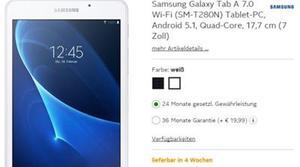 Filtrada la nueva tablet Samsung Galaxy Tab A con todas sus especificaciones