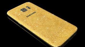 Este Samsung Galaxy S7 está bañado en oro de 24 quilates y cuesta 3.000 dólares