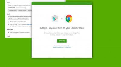 Rumor: Los Chromebook podrían acceder a Play Store