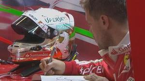 La cuenta de Twitter de la F1 vacila a Sebastian Vettel en el GP de Rusia