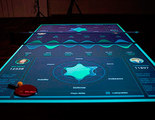 Juega al ping-pong como lo haría Tony Stark con esta mesa de realidad aumentada