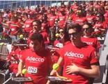 El Mutua Madrid Open 2016 bate este Récord Guiness con 1400 personas