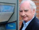 El creador del cajero automático solo recibió 12 euros por su invento