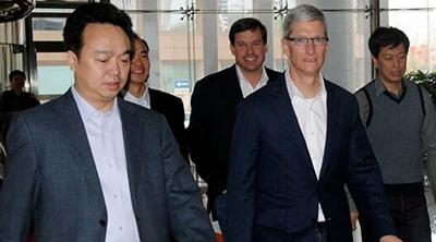 Tim Cook viajará a China para reunirse con miembros del Gobierno