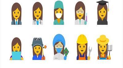 Google pide emoticonos que fomenten la igualdad