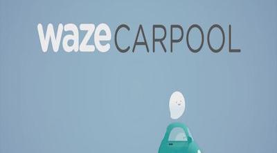 Waze Carpool, el servicio de transporte de Google que quiere competir con Uber