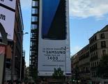 El centro de Madrid tendrá un Samsung Galaxy S7 de 1400 pulgadas