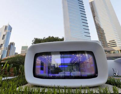 La primera oficina realizada mediante impresi n 3d abre en for Edificio movil en dubai