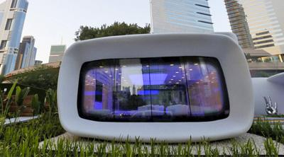 La primera oficina realizada mediante impresión 3D abre en Dubai
