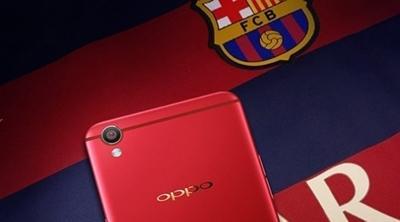 Filtrada una edición del Oppo F1 Plus del FC Barcelona