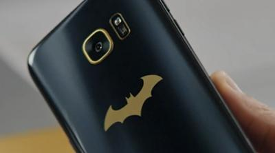 Fans de Batman, aquí tenéis vuestro Samsung Galaxy S7 Edge
