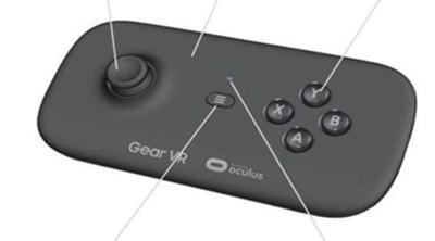 Samsung lanzará al mercado este mando para las gafas Gear VR
