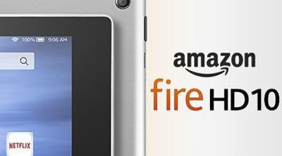 Amazon lanzará versión metálica de su tablet Fire HD 10