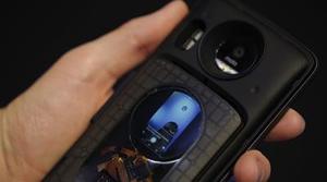Un accesorio modular del Motorola Moto Z mostraría una pantalla trasera