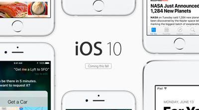 iOS 10 llegará este otoño a los iDevices y estas son sus novedades