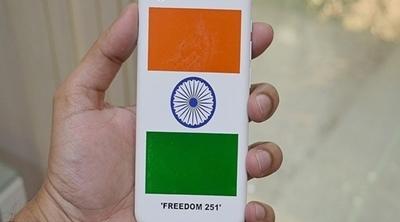 Se pone a la venta el Freedom 251, el smartphone de 4 dólares