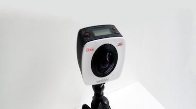 Wolder crea su primera cámara de acción de 360 grados