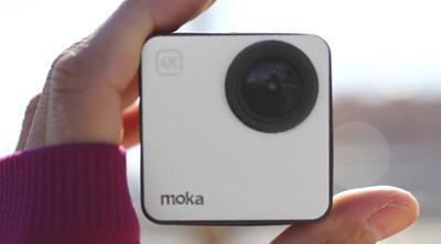 Mokacam, la ambiciosa cámara 4K más pequeña del mundo