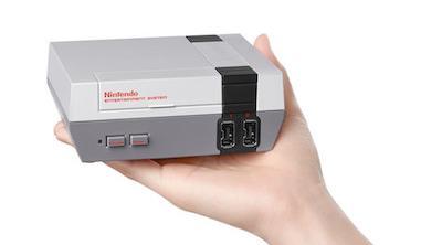 Vuelve la NES, pero más pequeña y con HDMI