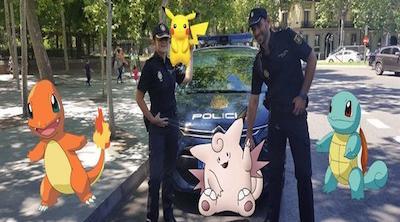 La Policía Nacional publica en Twitter pautas para jugar a Pokémon Go