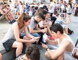 Récord en Madrid: La quedada de 'Pokémon GO' superó las 3.000 personas