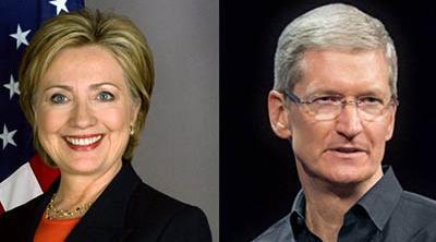 Tim Cook prepara un acto en apoyo a Hillary Clinton