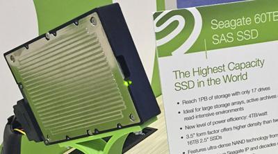 Seagate se apunta nuevo récord con el SSD de 60TB