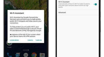 Si tienes un Nexus, te conectarás automáticamente a Wifis públicas