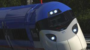 Amtrak presenta un nuevo tren de alta velocidad
