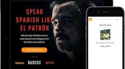 Netflix y Babel lanzan una aplicación para promocionar 'Narcos'