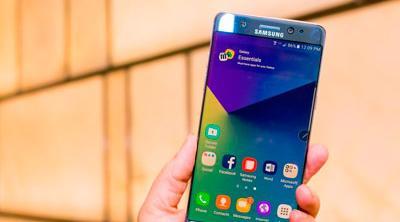 Siguen los casos de Samsung Galaxy Note 7 que explotan