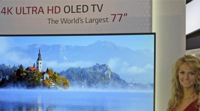 Nueva pantalla LG OLED 4K de 77 pulgadas