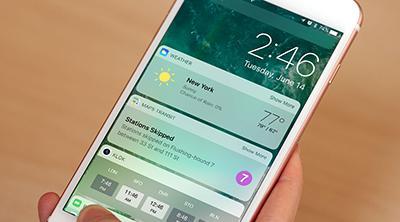 iOS 10 supera ya a iOS 9 en dispositivos instalados