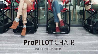 Nissan crea las ProPilot Chair. Hacer cola nunca ha sido más cómodo