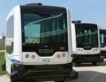 California permite las primeras pruebas de un autobús lanzadera sin conductor