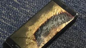 Explota un Galaxy Note 7 de reemplazo, supuestamente con la batería bien