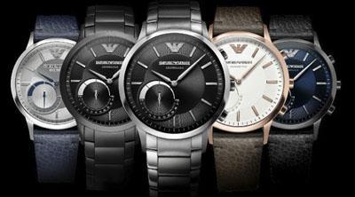 ¿Lanzará Emporio Armani su propio smartwatch?