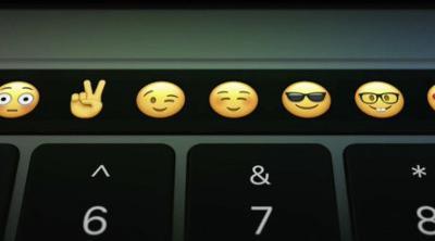 Touch Bar es la gran novedad del nuevo MacBook Pro
