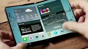 Samsung patenta un nuevo smartphone totalmente flexible y plegable