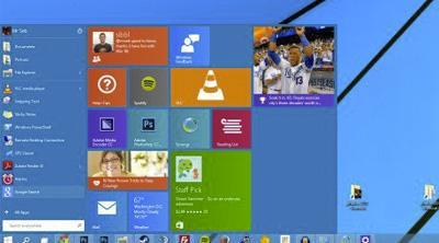 Rediseño de la interfaz gráfica de Windows en camino