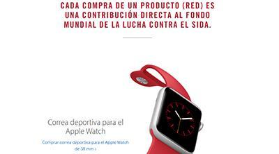 Apple hace su pequeña aportación a la lucha contra el sida