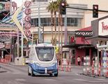 Las Vegas tiene el primer autobús eléctrico y autónomo en carreteras públicas