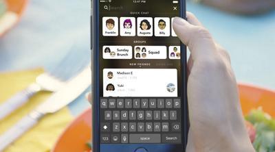 La barra de búsquedas, nueva incorporación para Snapchat