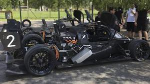 La primera carrera de coches autónomos termina en accidente