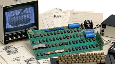Un Apple-1, el primer ordenador de Apple, saldrá a subasta en mayo