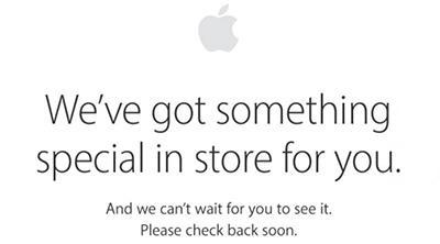 La tienda online de Apple, en mantenimiento. ¿Se acercan productos nuevos?