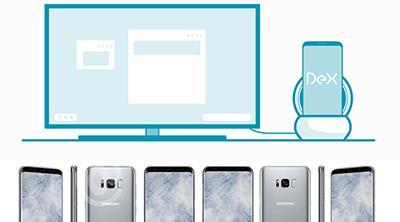Samsung podría lanzar un accesorio para usar el S8 como si fuera un ordenador con teclado y ratón